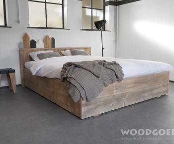 Slaapkamer Met Steigerhout : Slaapkamer met steigerhout steigerhout binnentafel with