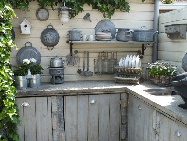 Keuken Aan Tuin : Steigerhout in de tuin keuken 2 steigerhoutbestel.nl